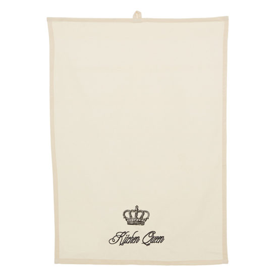 Kitchen Queen Tea Towel PRIMARY IMAGE