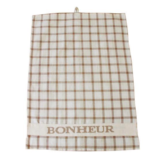 Bonheur Happiness Tea Towel