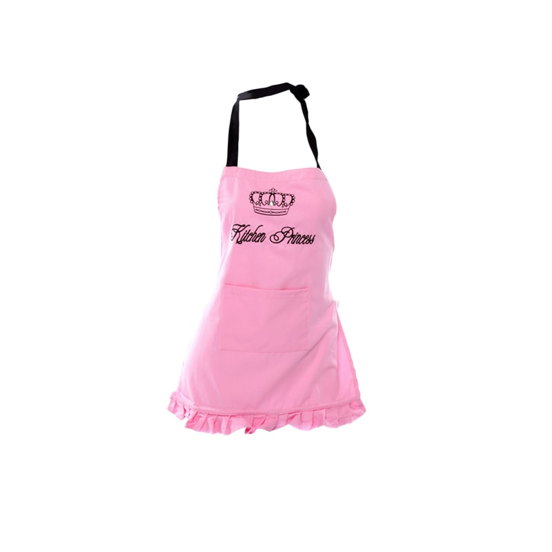 Kitchen Princess Girls Apron Dishy Designs 100 Cotton Textiles