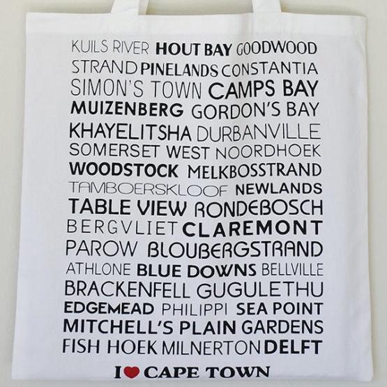 I love Cape Town Shopper Bag