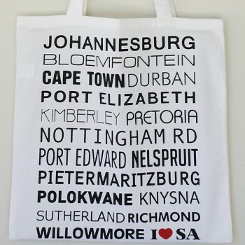 I LOVE SA SHOPPER BAG