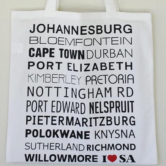 I LOVE SA SHOPPER BAG