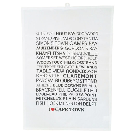 I love Cape Town Tea Towel