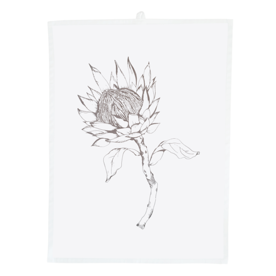 protea tea towel